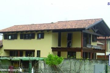 Modello Casa in Legno Casa in bioedilizia costruita su progetto / Saluggia di sangallo srl