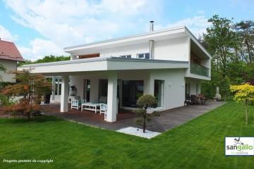 Modello Casa in Legno Casa moderna di sangallo srl