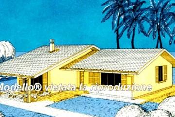 Casa in Legno Su progetto da noi proposto  modificabile  RE 113