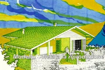 Casa in Legno Su progetto da noi proposto  modificabile   RE 125