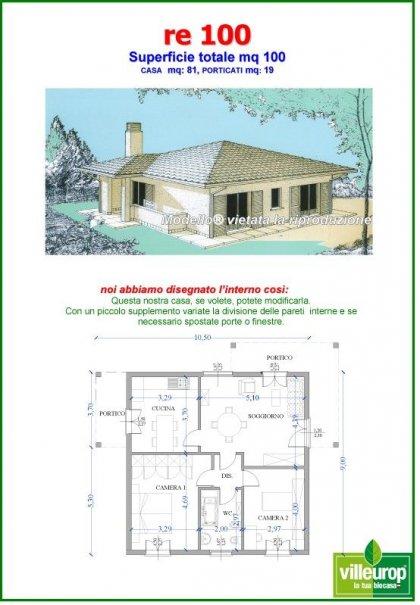 Casa In Legno Modello Su Progetto Da Noi Proposto Modificabile Re