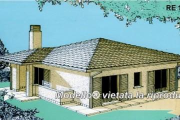 Modello Casa in Legno Su progetto da noi proposto  modificabile RE 100 di sangallo srl