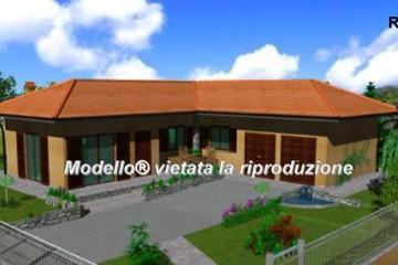 Modello Casa in Legno Su progetto da noi proposto  modificabile   RE 140 di sangallo srl
