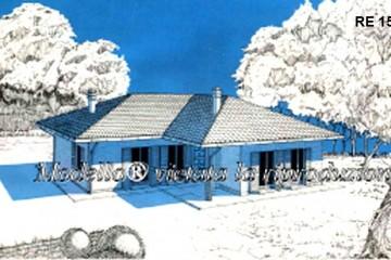 Modello Casa in Legno Su progetto da noi proposto  modificabile   RE 154 di sangallo srl