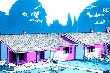 Modello Casa in Legno Su progetto da noi proposto  modificabile RE 356 di sangallo srl