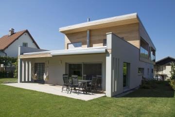 Realizzazione Casa in Legno Casa a progetto moderna di sangallo srl