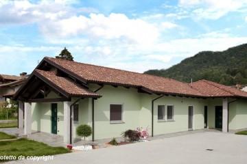 Realizzazione Casa in Legno Casa in bioedilizia costruita su progetto /Gaiola (CN) di Sangallo S.r.l.