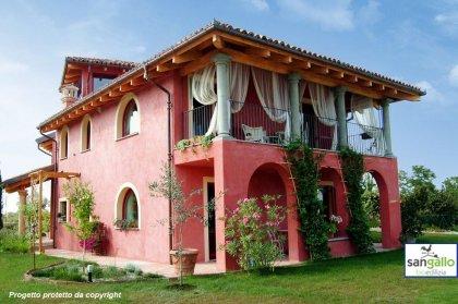 Progettazione Casa In Legno : Casa in legno modello casa in bioedilizia costruita su progetto