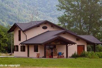 Modello Casa in Legno Casa in bioedilizia costruita su progetto /Gaiola (CN) di sangallo srl