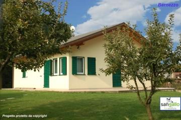 Modello Casa in Legno Casa in bioedilizia costruita su progetto /Bernezzo (CN) di sangallo srl