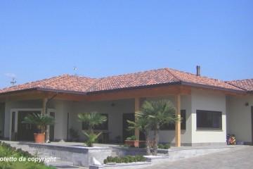 Modello Casa in Legno Casa in bioedilizia costruita su progetto /Buscate (MI) di sangallo srl