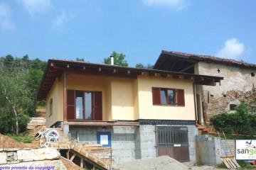 Modello Casa in Legno Casa in bioedilizia costruita su progetto /Dronero (CN) di sangallo srl