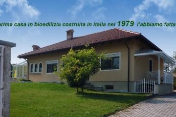 Modello Casa in Legno La prima casa in bioedilizia costruita in Italia nel 1979 ! l'abbiamo fatta noi! di sangallo srl