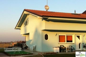 Modello Casa in Legno Casa in bioedilizia costruita su progetto /Rimini (RN) di sangallo srl