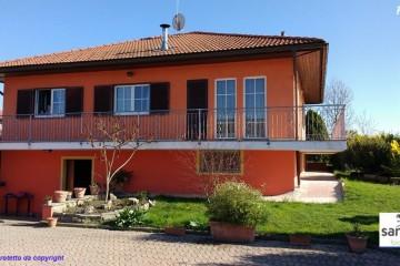 Modello Casa in Legno Casa in bioedilizia costruita su progetto /Ruffia (CN) di sangallo srl