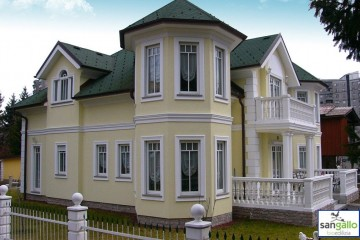 Modello Casa in Legno Casa in bioedilizia costruita su progetto /Trieste (TS) di sangallo srl