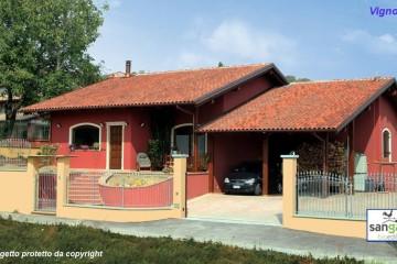 Casa in Legno Casa in bioedilizia costruita su progetto /Vignolo (CN)