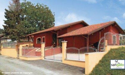 Progettazione Casa In Legno : Progettazione del paesaggio sul sito di una casa di campagna