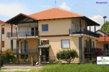 Modello Casa in Legno Casa in bioedilizia costruita su progetto /Borgaretto (CN) di sangallo srl