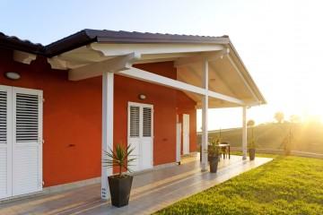 Modello Casa in Legno Villetta Osimo di Wooden Buildings