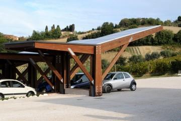 Modello Box Auto in Legno Car Port di Wooden Buildings