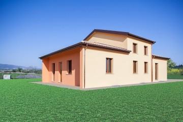 Realizzazione Casa in Legno Cantiere a Chiesanuova di Treia 200mq di Wooden Buildings