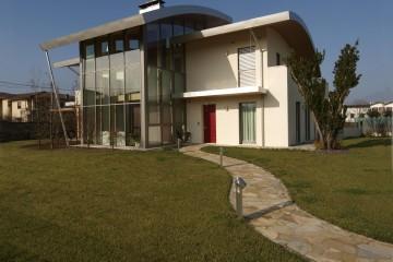 Modello Case in Legno Casa unifamigliare - Isola Vicentina (VI) di Biohabitat
