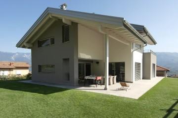 Modello Case in Legno Casa unifamigliare - Pedersano (TN) di Biohabitat