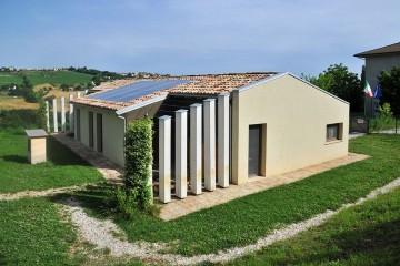 Edificio Pubblico (scuola, chiesa) in Legno Agrinido