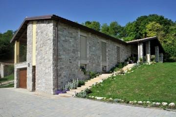 Modello Casa in Legno Casa Monofamiliare di Subissati srl
