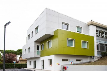 Modello Edificio Pubblico (scuola, chiesa) in Legno Scuola