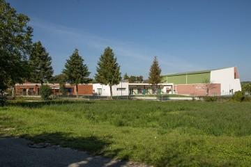 Modello Edificio Pubblico (scuola, chiesa) in Legno Scuola dell'infanzia e Palestra  - Vallefoglia (PU) di Subissati srl