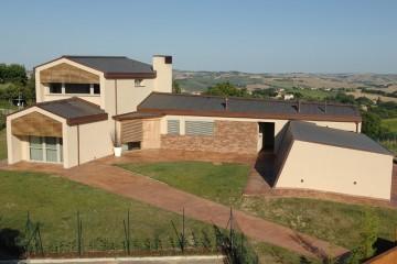 Modello Casa in Legno Villa monofamiliare di Subissati srl