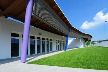 Modello Edificio Pubblico (scuola, chiesa) in Legno Edificio scolastico-Folignano di Subissati srl