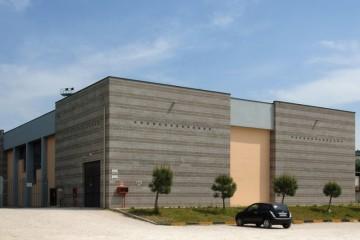 Modello Tetto in Legno Palazzetto dello sport-Alessio Pergolesi-Polverigi di Subissati srl