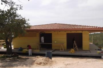 Realizzazione Casa in Legno Villa D'Angelo di caseclimatiche
