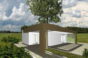 Modello Casa in Legno Casa blocco di WOOD HOUSE