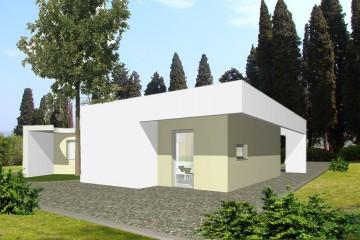 Casa in Legno Monopiano Monofamiliare Moderna
