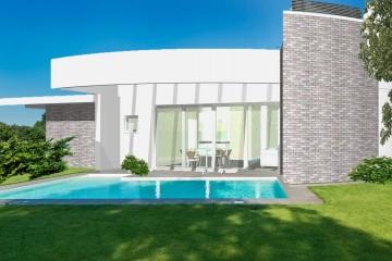 Modello Casa in Legno Monofamiliare Moderna Monopiano di WOOD HOUSE