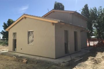 Realizzazione Casa in Legno Cantieri di ECOHOUSE srl