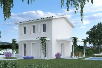 Modello Casa in Legno ECO 100 di ECOHOUSE srl