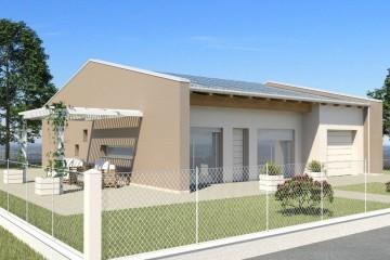 Modello Casa in Legno ECO 125 di ECOHOUSE srl