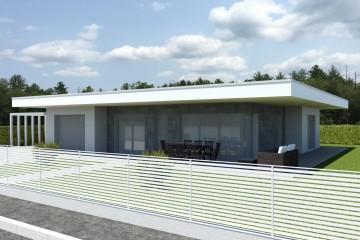 Modello Casa in Legno ECO 175 di ECOHOUSE srl