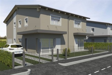 Modello Casa in Legno BIF 295 di ECOHOUSE srl