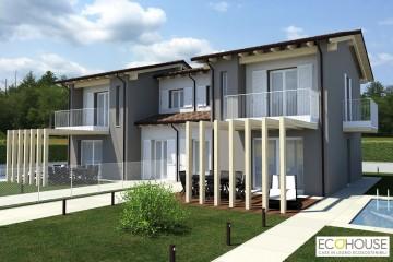 Modello Casa in Legno BIF 280 di ECOHOUSE srl