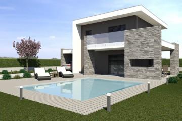 Modello Casa in Legno ECO 180 di ECOHOUSE srl