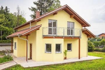 Realizzazione Casa in Legno Casa Mia 136 di Spazio Positivo