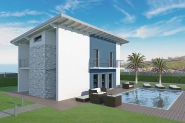 Modello Casa in Legno Kubà di Spazio Positivo