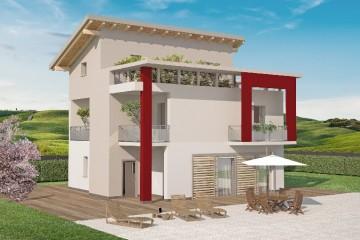 Modello Casa in Legno Modì di Spazio Positivo