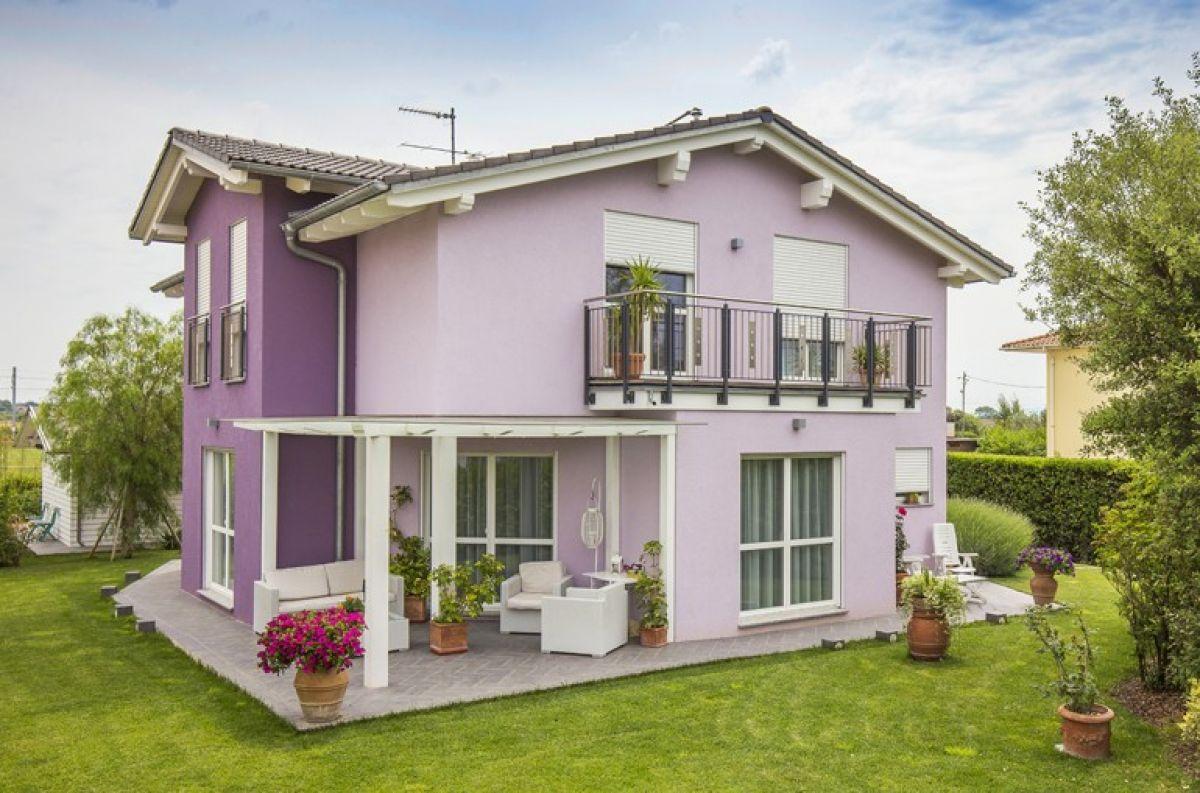 Casa in legno modello vicenza di spazio positivo - Spazio casa vicenza ...